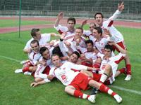 Les séniors, champions de deuxième division en 2008