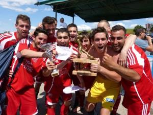 Les séniors champions de promotion d'excellence saison 2012-2013
