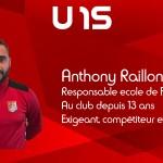 Anthony Raillon U15